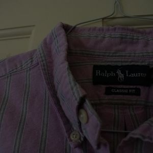 Mens Ralph Lauren Short Sleeve Button Down